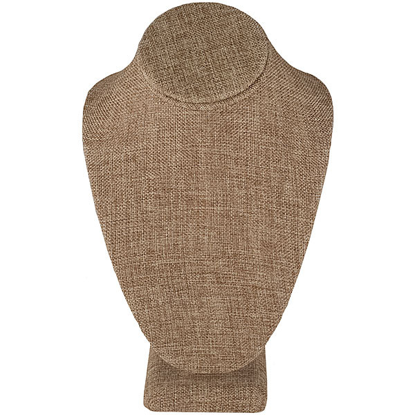 Neck Form 15 inches high - Burlap