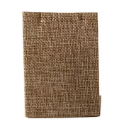 Earring stand rectangle - Burlap