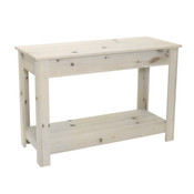 """Prairie table unfinished pine - 32""""hx48""""l"""