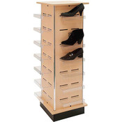 Shoe Tower - Maple - 12 inch center