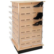 Shoe Tower - Maple - 24 inch center