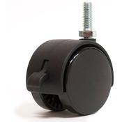 Locking Caster with 3/8 inch stem