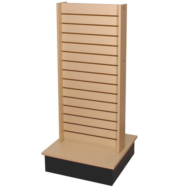 Slatwall Unit 2-Side Maple