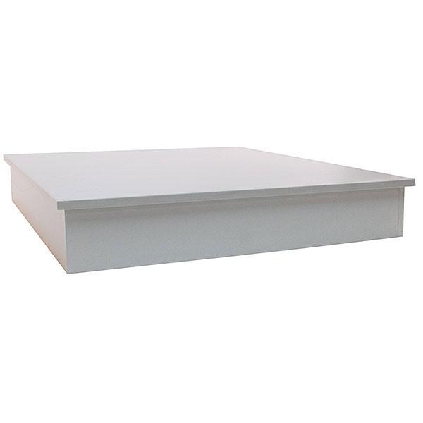 Display Pedestal Base - 48 inch square - White