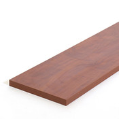 "Flat shelf 8""x46-1/2"" for adjustable bookcase - cherry"