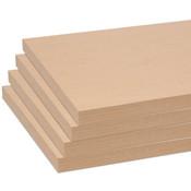 """Melamine shelves 10""""x46-1/2"""" 4-pack - maple"""
