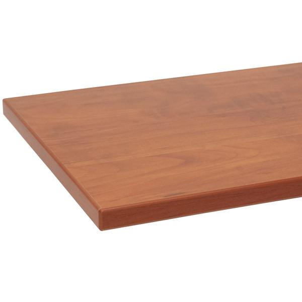 "Melamine shelf 8"" x 48"" cherry with cherry 3mm edge-banding"