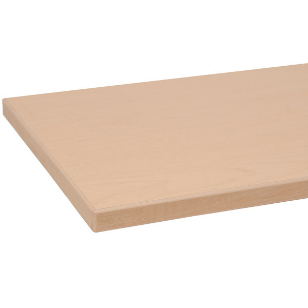 "Melamine shelf 8"" x 24"" maple with maple 3mm edge-banding"