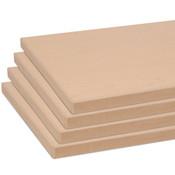 """Shelves (set of 4) for 55005 maple 10""""x19.5"""" w/black 3mm edgebanding"""