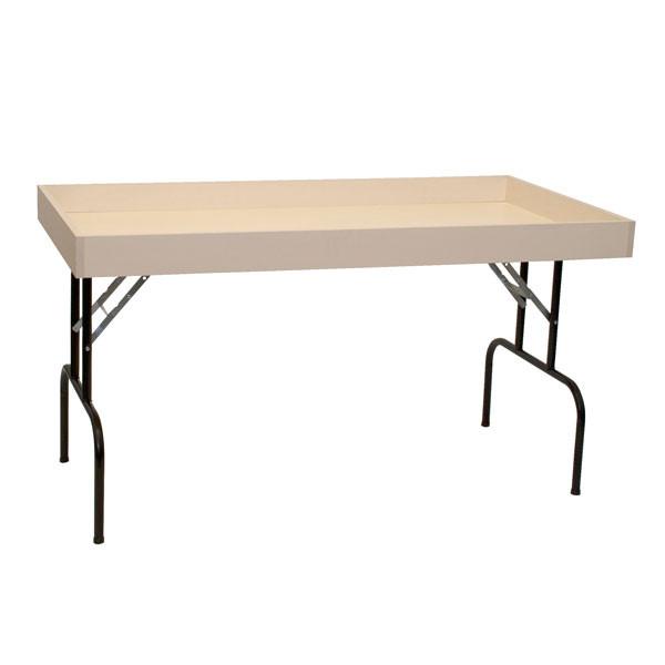 "Dump table 30""wx60""lx29""h - almond"