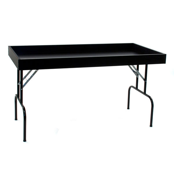 """Dump table 30""""wx60""""lx29""""h - black"""