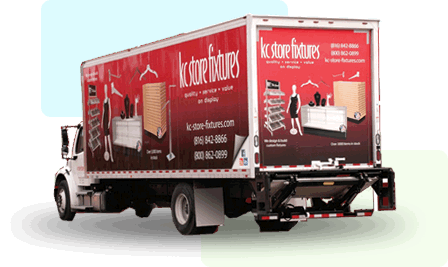 KCSF Delivery Truck