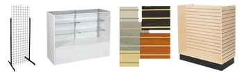 merchandising fixtures, displays, accessories